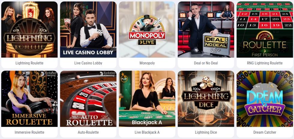 cookie casino kasyno na żywo