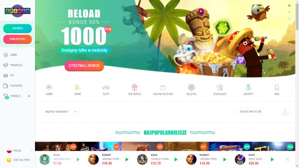 nowe kasyna internetowe