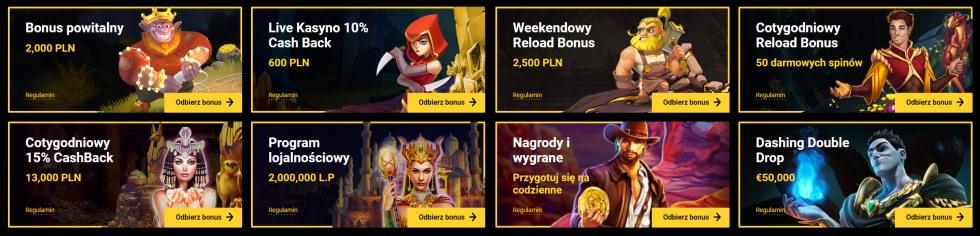 zet casino bonusy
